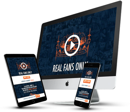Bronco Gang Website Design