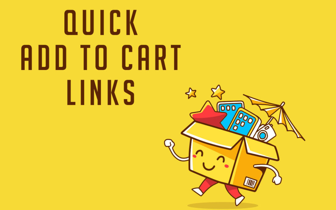 How To Create An Add To Cart Link From A Woocommerce Product